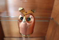 Coppercraft Guild Vintage Owl Coin Bank
