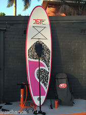 Super Strong Double Layer Inflatable SUP 9' with Paddle and Pump