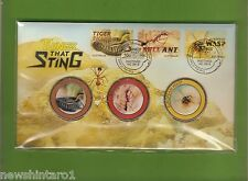 2014  THINGS THAT STING PNC MEDALLIONS  STAMPED ENVELOPE