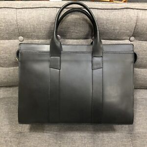 Frank Clegg Double Zip-Top - Black- Mint Condition