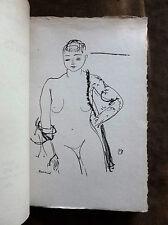 FRANCIS CARCO.PETITS AIRS.1920. dessin de M.BARRAUD.1/300 ex/P.Chiffon n° 138