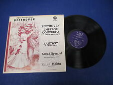 Beethoven Emperor Concerto Fantasy OP 77 Album, LP Vinyl Stereovox Stpl 512050