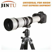 650-1300mm f/8-16 Telephoto Lens for Nikon D5300 D7300 D3100 D3200 D3300 D3400