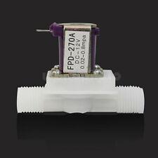 """DC 12V Válvula Solenoide Electromagnética Eléctrica para Aire Agua N/C 1/2"""""""
