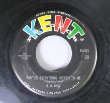 Blues 45 B.B. King - Why Do Everything Happen To Me / You Know I Go For You On K