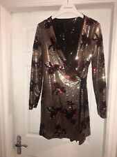 Zara Trf Collection,Size Small, Sequin Dress,bnwt