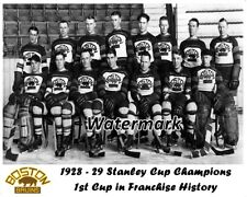 NHL 1928 - 29 Boston Bruins 1st Franchise Stanley Cup Team Picture 8 X 10 Photo