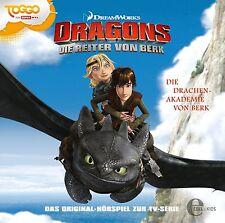 CD * DRAGONS - DIE REITER VON BERK 1 - DIE DRACHEN-AKADEMIE # NEU OVP &