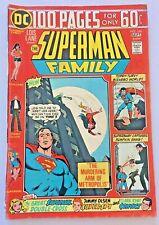SUPERMAN FAMILY. NO. 166. (100 PAGES) VINTAGE 1974. DC COMICS. VG+ . 4.5