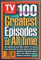 ORIGINAL Vintage TV Guide June 28, 1997 NO LABEL 100 Greatest Episodes All Time