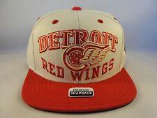 NHL Detroit Red Wings Reebok Winter Classic Snapback Hat Cap