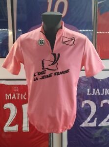 Football Jersey Yellow Maglia Cysliste Cycling Vintage Tour de France Oise XL 5