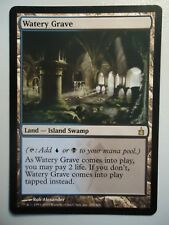 1x Watery Grave TOPRARE Ravnica MtG Magic the Gathering