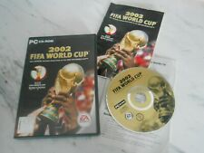 PC CD-ROM 2002 FIFA World Cup From EA Sports PAL ** SAME DAY DISPATCH **