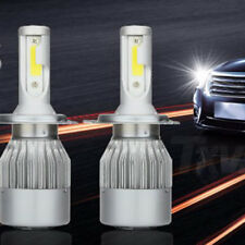 H4 9003 110W 26000LM COB Cree LED Headlight Kit Hi/Lo Beam Bulb 6000K White Lamp