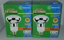 2 WESTINGHOUSE CFL 14R30/27 15W 120V Standard Base/ Soft White Equivalent 65W