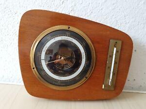 Alter Barometer, Hygrometer, Thermometer, Wetterstation, Wandbehang, LM11