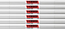 KBS Tour 105 Iron Shafts 5-PW Stiff Flex .355 Taper Tip - Master Distributor