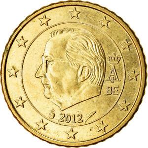 [#765885] Belgique, 50 Euro Cent, 2012, SUP, Laiton, KM:279