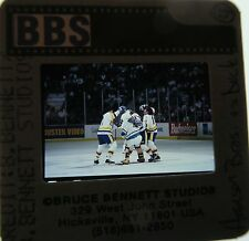 SLAP SHOT CAST HANSON BROTHERS Paul Newman Jennifer Warren   ORIGINAL SLIDE 1