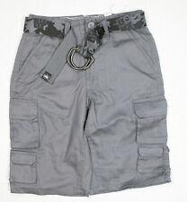 Never Give Up Boys By John Cena Gray Shorts Size 8 With Original Black Belt   46