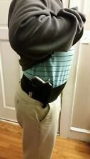 MEN'S LARGE TACTICAL CONCEALED WAISTBAND BELLY BAND GUN HOLSTER!