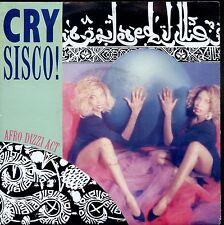 7inch CRY SISCO afro dizzi act BELGIUM 1988 ELECTRO EX  +PS