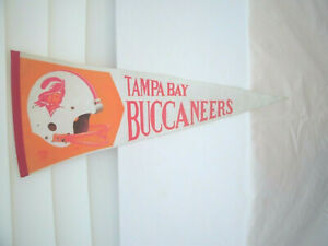TAMPA BAY BUCCANEERS--1970's  Pennant--Nice Condition