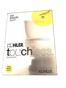 Kohler Touchless Toilet Flush Kit [1954-0] No Touch Flush - (Fits Most Toilets)