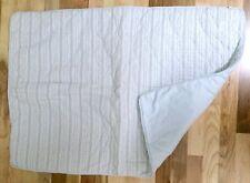 JACADI Baby Blanket / Stroller / Crib Quilt / Play Mat - French - 35 x 25 - Blue