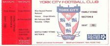 Ticket - York City v Grays Athletic 09.02.2008