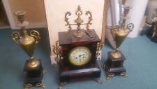 horloge plus bougeoire