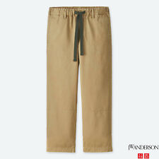 JW Anderson x Uniqlo Men's JWA Relaxed Chino Flat-Front Pants NEW L sz 33-36x31