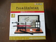 Re-Ment Pose Skeleton - Japanese Sword Set