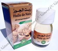 Huile de Noix 100% Pure & Naturelle 30ml Walnut Oil, Aceite de Nueces