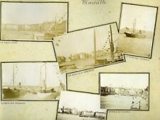 Travel to Maghreb Algeria Tunisia Marseille Album of 221 Amateur Photos 1903