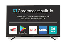 "SONIQ 55"" UHD Google Chromecast built-in TV (Refurbished) T2N55UX17B-AU"