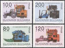 Bulgaria 1997 Diesel Engines/Motoring/Transport/Truck/Tractor/Boat 4v set n33867