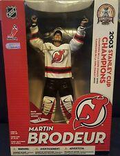 "McFarlane NHL Legends MARTIN BRODEUR Devils 2003 Stanley Cup 12"" Figure"