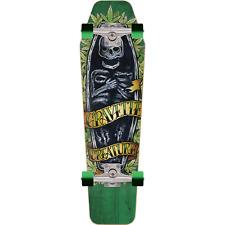 """Creature Skateboards 8.4"""" x 28.8"""" Gravette Skully Complete Cruiser"""