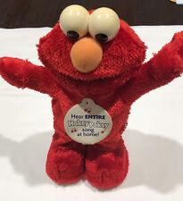 Elmo Hokey Pokey Dancing Toy Sesame Street Character Mattel 2002