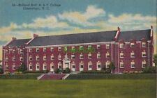Postcard Holland Hall A & T College Greensboro NC North Carolina