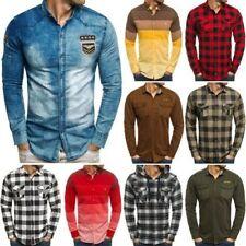 Camisas y polos de hombre multicolor 100% algodón