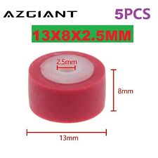 5PCS 13x8.3x2.5mm Para Radio Audio Roller Grabadora Cassette Polea