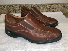 d8cbf5d4268 Men s Cole Haan Size 10.5 M Nikeair Slip On Loafers Brown Leather Shoes EUC