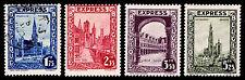 1929 BELGIUM #E1-E4 SPECIAL DELIVERY - NEW & USED - VF - CV$23.55 (ESP#8799)
