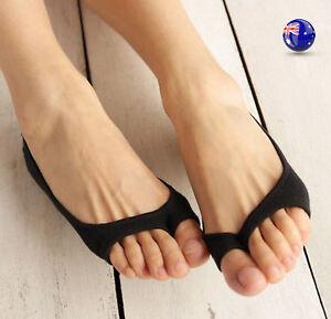Women Lady Girl Toeless Toe open Summer Short Sandal Low cut short Socks Socket
