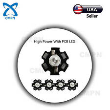 5Pcs 5Watt UV Ultraviolet 425-430nm High Power SMD LED Chip Light Beads With PCB