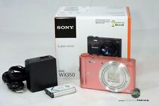 Sony DSC-WX350P Kompaktkamera pink
