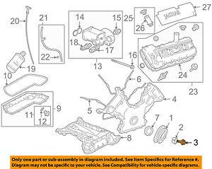 JAGUAR OEM 04-09 XJ8 4.2L-V8 Engine-Damper Pulley Bolt AJ89909